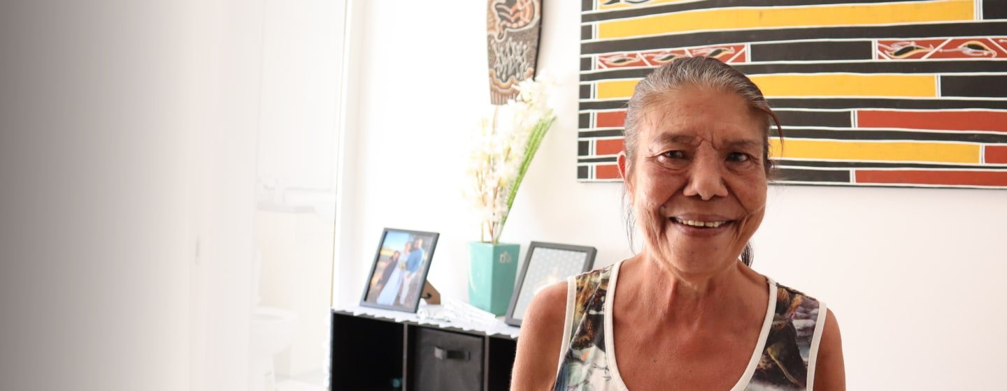 Indigenous elder celebrates better health
